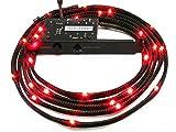 NZXT CB-LED10-RD 1-Metre Light Sensitivity Sleeved LED Kit (Red)