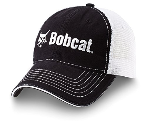 bobcat-250010-sandwich-cap-black-white-mesh