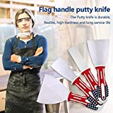 DOYOUDO Putty Knife 2 Inch Spackle Knife, USA Flag