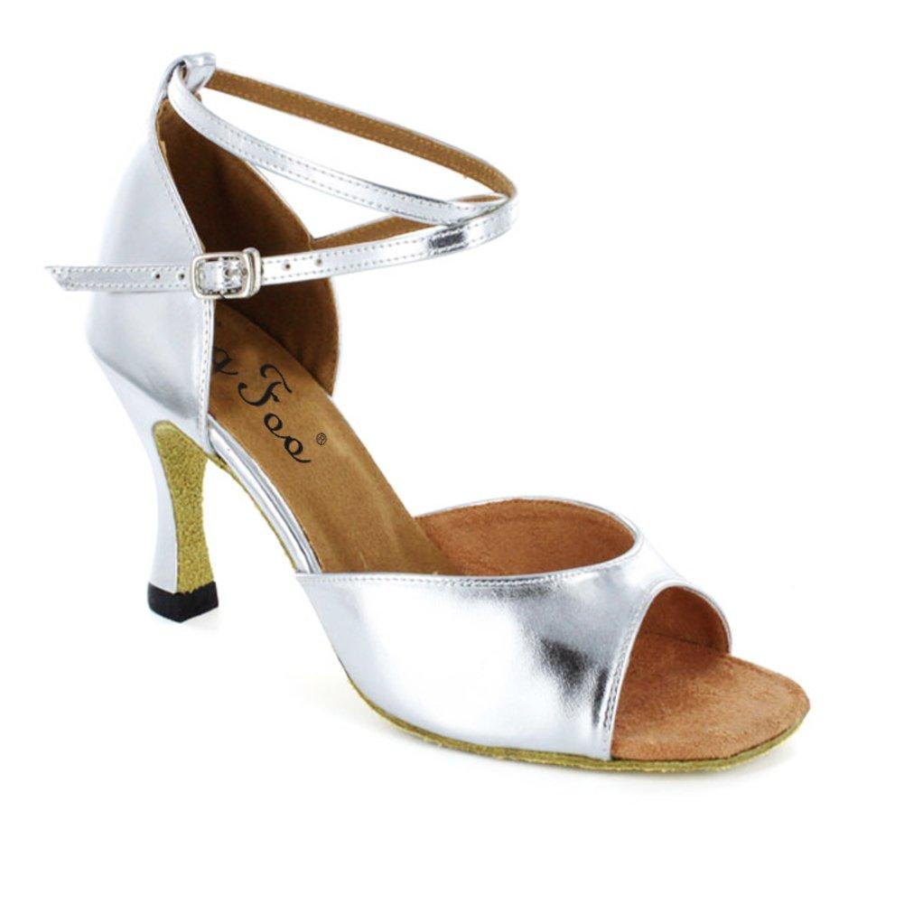 Zapatos Baile Adultomoderno De Bailaba Latino Danza Cuadrado Que hsrQxtdC