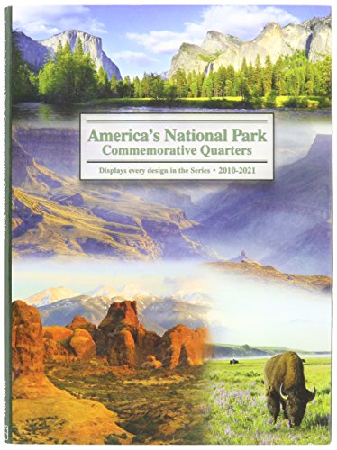 America The Beautiful Commemorative Quarter Color Folder-2010-2021