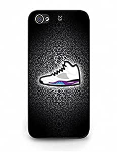 New Style Iphone 5 Case, Vogue Air Jordan Sneaker Photo Slim Fit Clear Back Cover for Iphone 5S 4912692M861139637