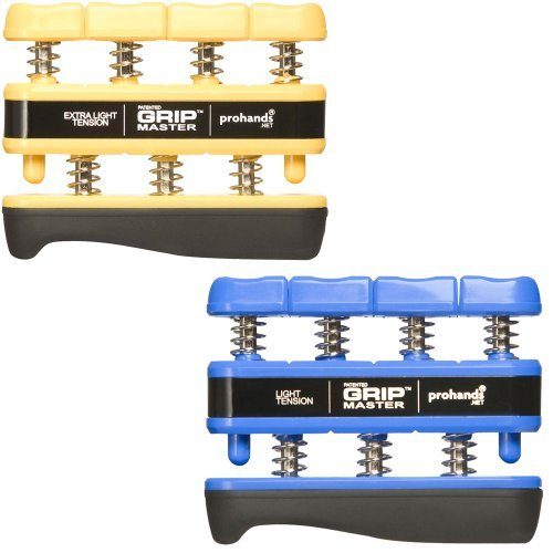 Gripmaster 2-Pack Yellow (Extra-Light Tension) And Blue (Light Tension)