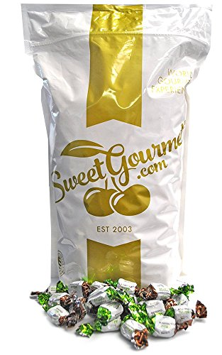 SweetGourmet Arcor Chocolate Filled Mint, 6lb (Chocolate Filled Mints)