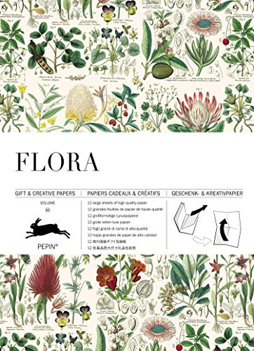 (Flora: Gift & Creative Paper Book Vol. 85 (English, Spanish, French and German Edition))