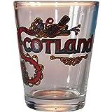 Scottish Gift Shot Glass Highland Celtic Scotland Design Gift Shot Glass