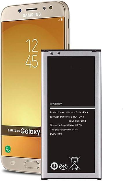 24 Month Warranty Galaxy J7 Battery Li-ion 3300mAh Galaxy J7 J727 J727A J727V J727R4 J727T J727T1 J7 Perx J7 Sky Pro J7 Prime EB-BJ710