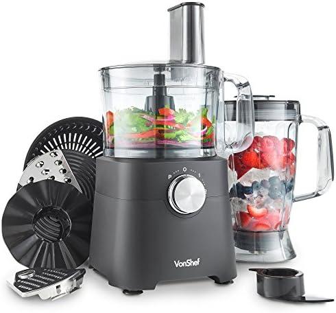 : VonShef 750W Küchenmaschine Multifunktions