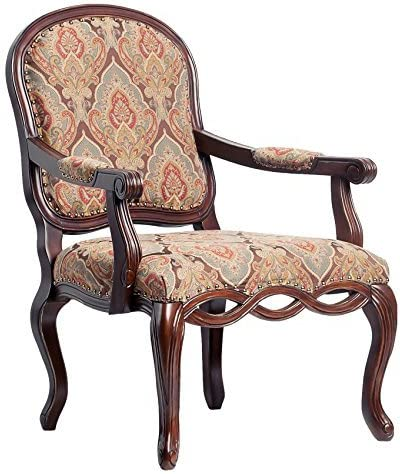 Greyson Living Bethany Hand-Carved Accent Chair by – See Product Description