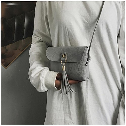 Tassel Bag Bag TOOPOOT Deals Tote Gray Handbag Lady Shoulder Small Shoulder Clearance Women IqPUxnw8x
