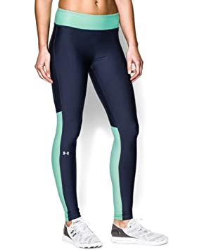 8d67d309dae36 Women's Under Armour HeatGear Armour Compression Leggings (Academy 408,  Large)
