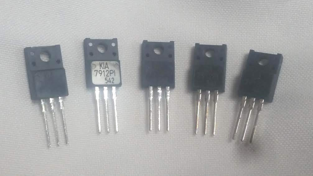 5 Pieces KIA7912PI Voltage Regulator -12V 1A Replacement NTE1971 Negative 12V by Generic