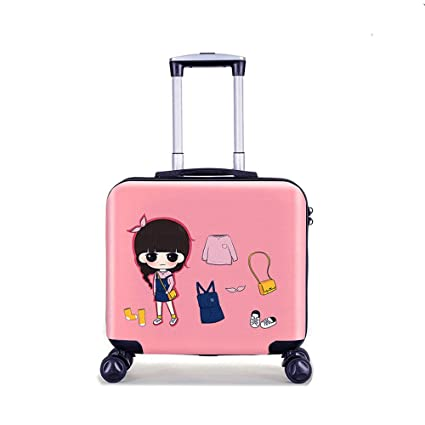 55003661cb82 YCYHMYF The suitcase universal wheel cartoon pull lever case girl 19 ...