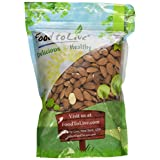 Food To Live Almonds (Whole, Raw, Shelled, Unsalted) (2 Pounds)