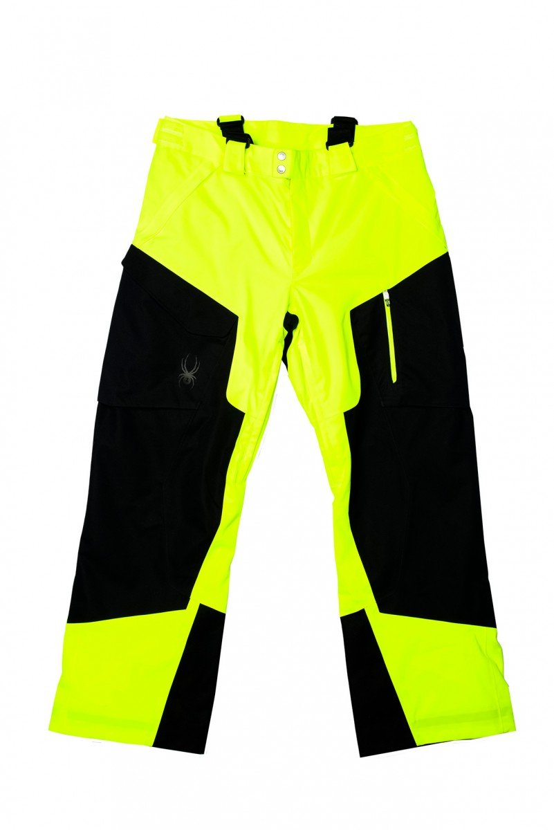 Spyder Herren Skihose Swytch Tailored Fit Pant Bryte Yellow