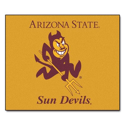 Arizona Tailgater State Rug (Fanmats NCAA Arizona State University Sun Devils Nylon Face Tailgater Rug)