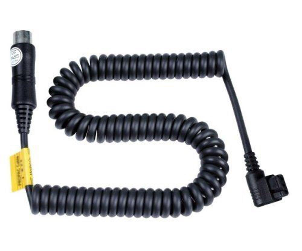 Godox PB-CX PB960 PB820 Lithium Battery Pack Power Cable for Canon 430EZ 540EZ 550EX 580EX 580EX II 600EX Flash Speedlite + CEARI Microfiber Clean Cloth