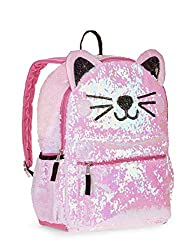 Kitty Cat Sequin Backpack for Girls