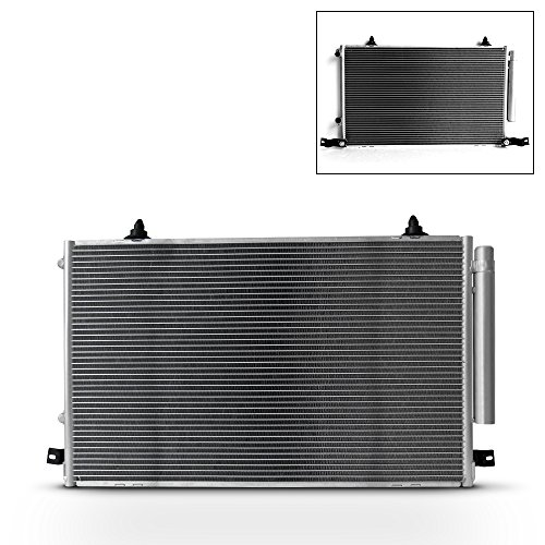 NEW 7-3053 TO3030116 Aluminum A/C AC Condenser Replacement For 2001-2007 Toyota Highlander