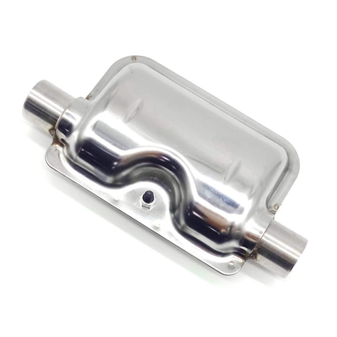 Silenziatore Kongqiabona Universal Design Terminale di scarico in acciaio inox Silenziatore Tubo Street Pit per moto moto 38-51mm