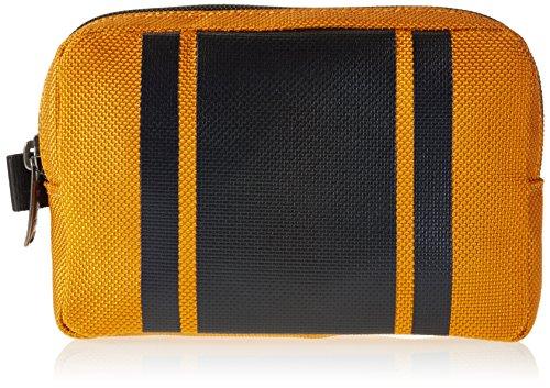 Tumi Estuche Negro / Naranja 16 cm