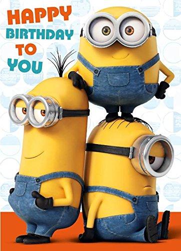 Sound Motiv Minions Die Karte Happy Birthday To You