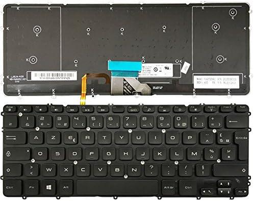 Nuevo teclado de recambio de ordenador portátil para Dell Precision M3800 XPS 15 9530 AZERTY: Amazon.es: Informática
