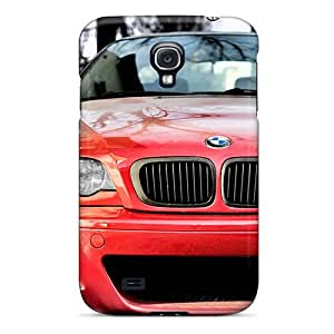 Galaxy S4 Hard Back With Bumper Silicone Gel Tpu Case Cover Bmw