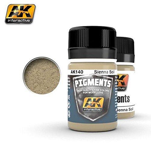 Sienna Pigment - AK-Interactive Sienna soil pigment, AK140, new! /item# G4W8B-48Q10162