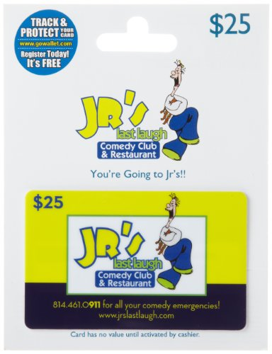 JR's Comedy Club Gift Card $25
