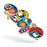 Seeka Circles Mezuzah Curated and sold by The Artazia Collection M1051