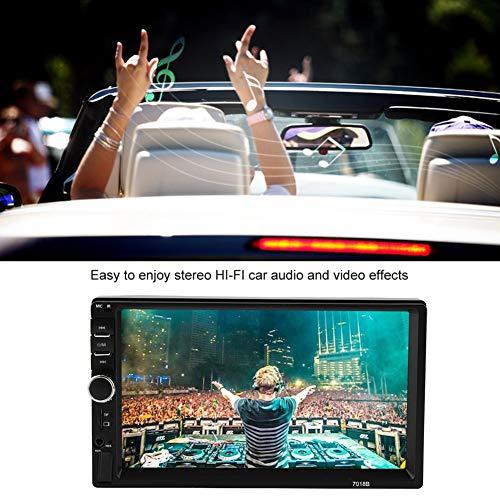 Akozon MP4 MP5 Player 7018B 7'' HD Car MP4 MP5 Player AUX Stereo BT Handsfree LCD FM Radio Remote Control by Akozon (Image #2)