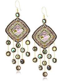 Abalone Multi-Drop Earrings