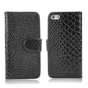 DUR Snakeskin Leather Case for iPhone 4/4S(Assorted Color) , White