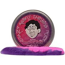 Crazy Aaron's Thinking Putty, 3.2 Ounce, Hypercolor Amethyst Blush