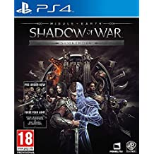 Middle-earth Shadow of War Silver Edition (PS4) UK IMPORT REGION FREE
