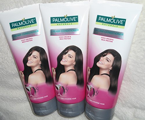 - Lot of 3 Palmolive Naturals Conditioner Intensive Moisture for Dry Coarse Hair 180ml