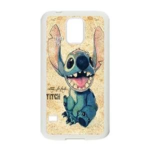 Modal Cute Movable Ear Flip Stitch & Lilo Silicone Cover Case For Samsung Galaxy S5 FNWT-U883471