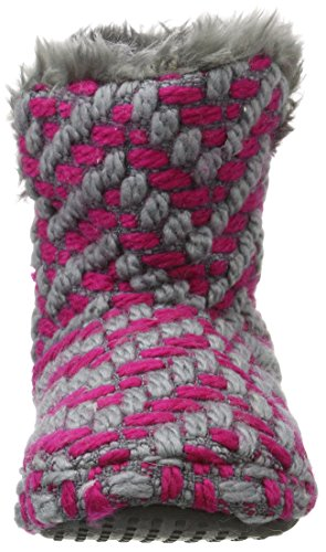 Dark Esprit Chaussons Femme Chaussons Bootie Rose Montants Knitty Bootie Pink Knitty Esprit Montants wIPxI4