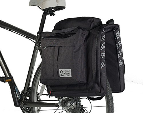 (Two Wheel Gear - Classic 2.0 Garment Pannier - Waterproof Coated Premium Commuter Suit Bag (Black))