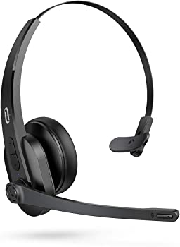 TaoTronics Trucker On Ear Bluetooth Headset With Microphone