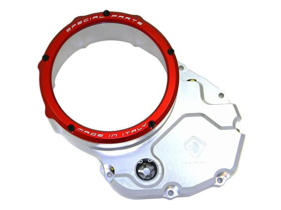 Amazon.com: Ducabike Clear Clutch Cover Ducati Multistrada MTS 620 1100 1200 Monster 696-795-796-1100-1200 S2R-800: Automotive