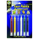 Crafty Dab Face Paint Push-Up Crayons - Bright Colors