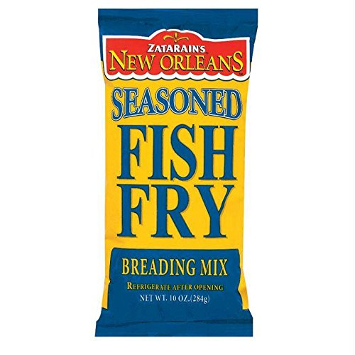 ZATARAINS BREADING FISH FRY SEASND 10OZ