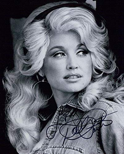 DOLLY PARTON signed 8x10 Photo