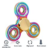 Greatever Fidget Spinner, EDC Fidget Toy Stress Reducer Time Killer Fingertip Gyro Hand Spinner Focus Toy Finger Toy for ADD, ADHD, Anxiety, Boredom, Autism Adults (T1 Zinc Alloy)
