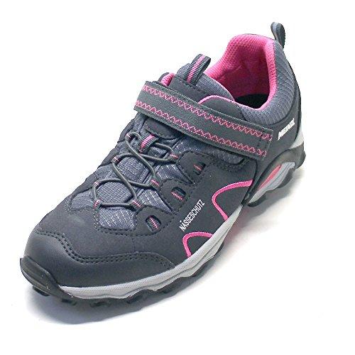 Grau Fille Meindl Chaussures montantes anthrazit pink pour wt6Iqp67