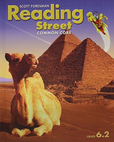 READING 2013 COMMON CORE STUDENT EDITION GRADE 6.2