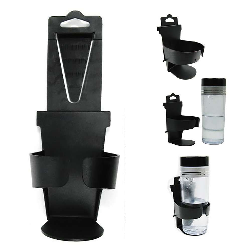 Universale a Clip Drink Bottle Holder plastica Car Air Vent Supporto di Tazza Bevanda Tazza Supporto SDYDAY Bottiglia da Auto Nero Taglia Libera da Appendere Tipo Auto Kit portabottiglie