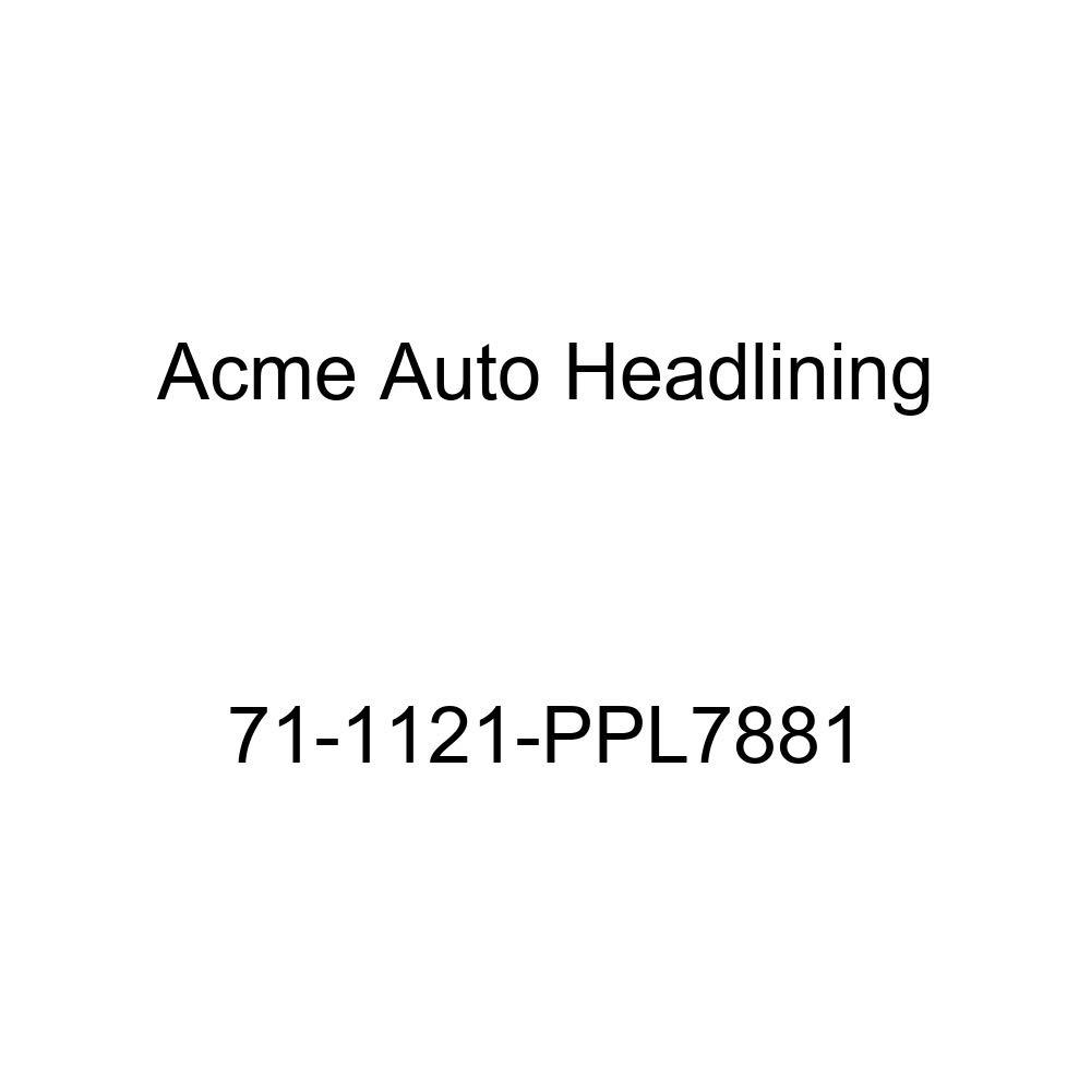 Acme Auto Headlining 71-1121-PPL7881 Carmine Replacement Headliner 1971 Buick GS and Skylark 2 Door Coupe and Hardtop